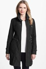 Cole Haan Metallic Packable Jacket - Lyst