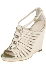 Cole Haan Air Minka Wedge Sandal White - Lyst