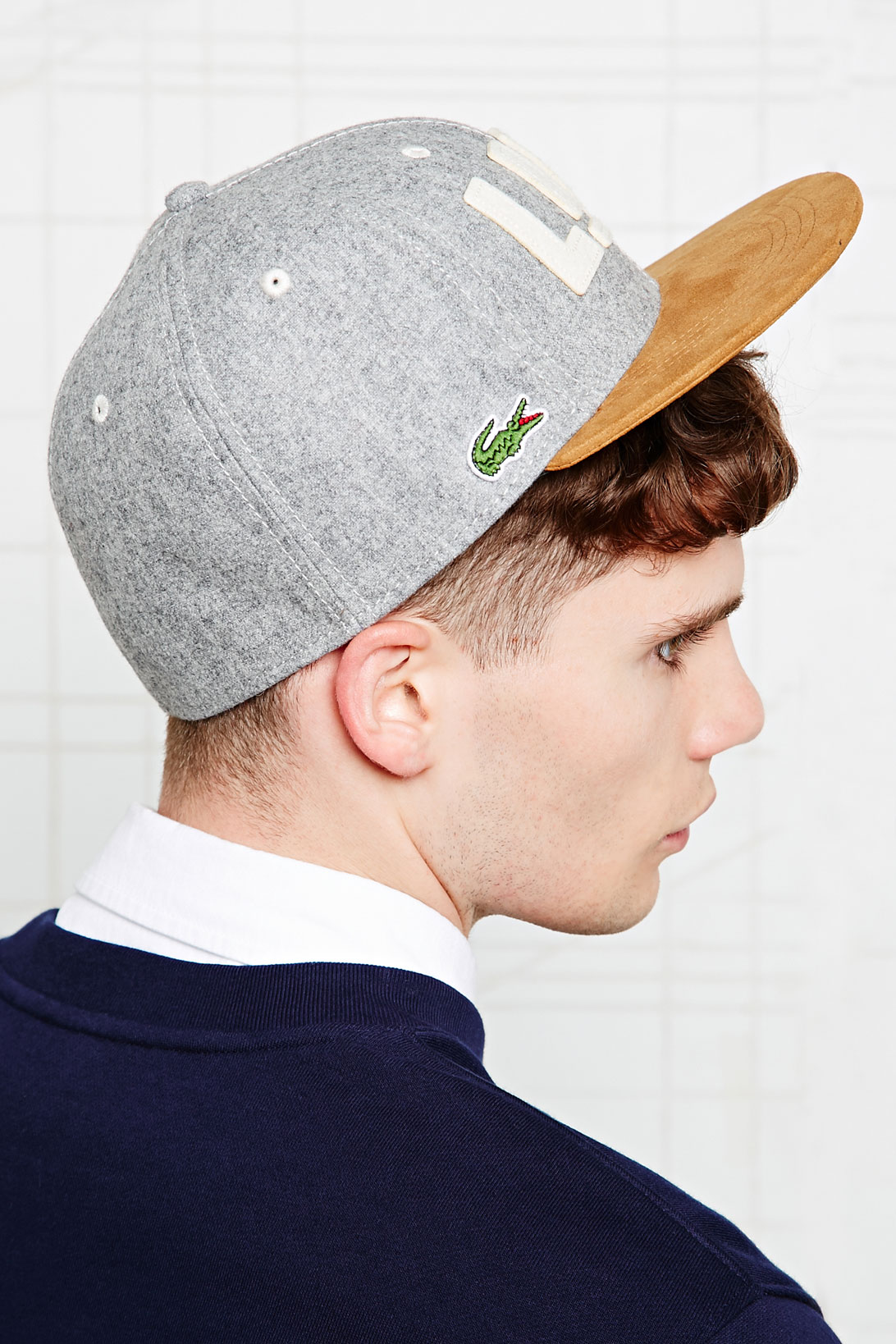 Lacoste Lacoste Snapback Cap in Grey in Gray for Men - Lyst 65f9e81f0f2