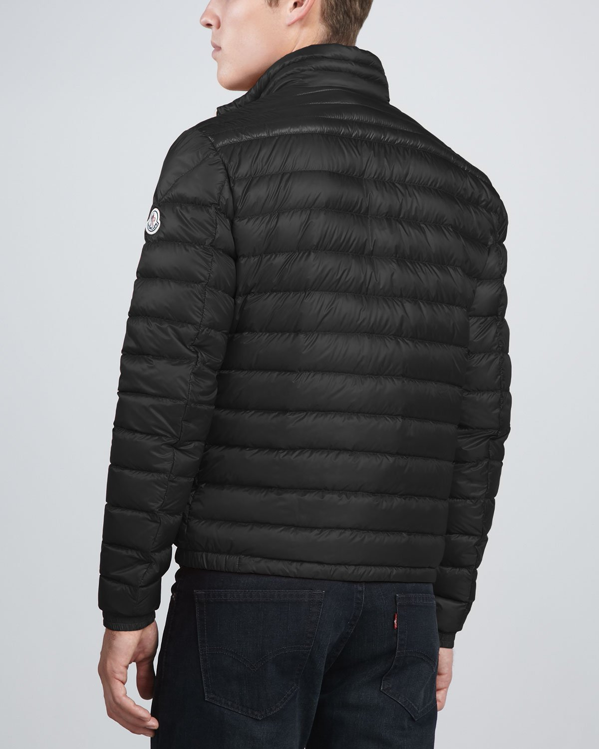 9227eaf0f Lyst - Moncler Acorus Lightweight Puffer Jacket in Black for Men