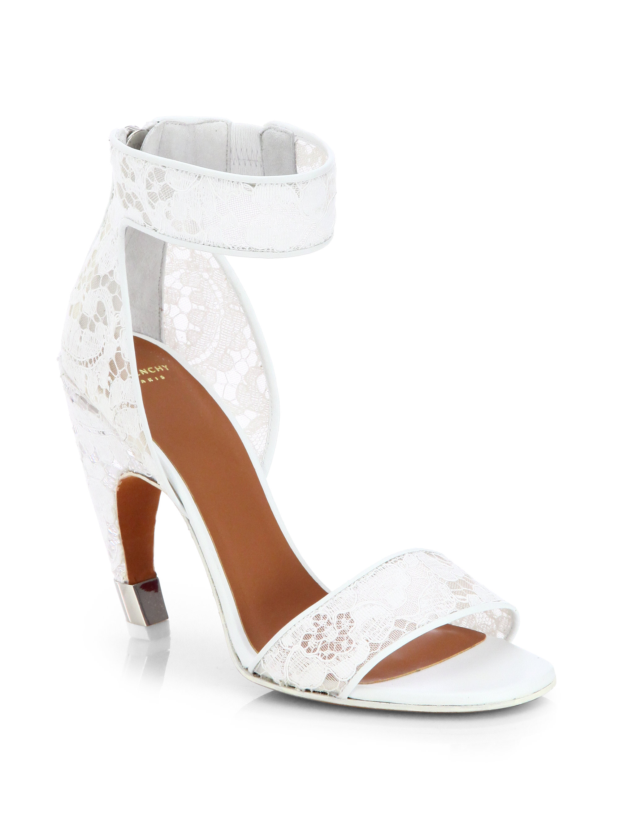 Givenchy Macrame Lace Sandals in