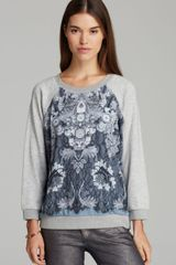 Marc By Marc Jacobs Sweatshirt Lena Printed - Lyst