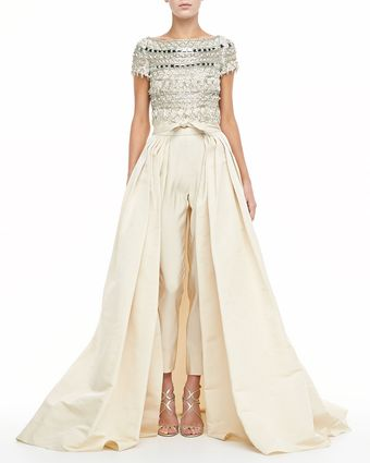 Naeem Khan Ball Skirt with Pants - Lyst