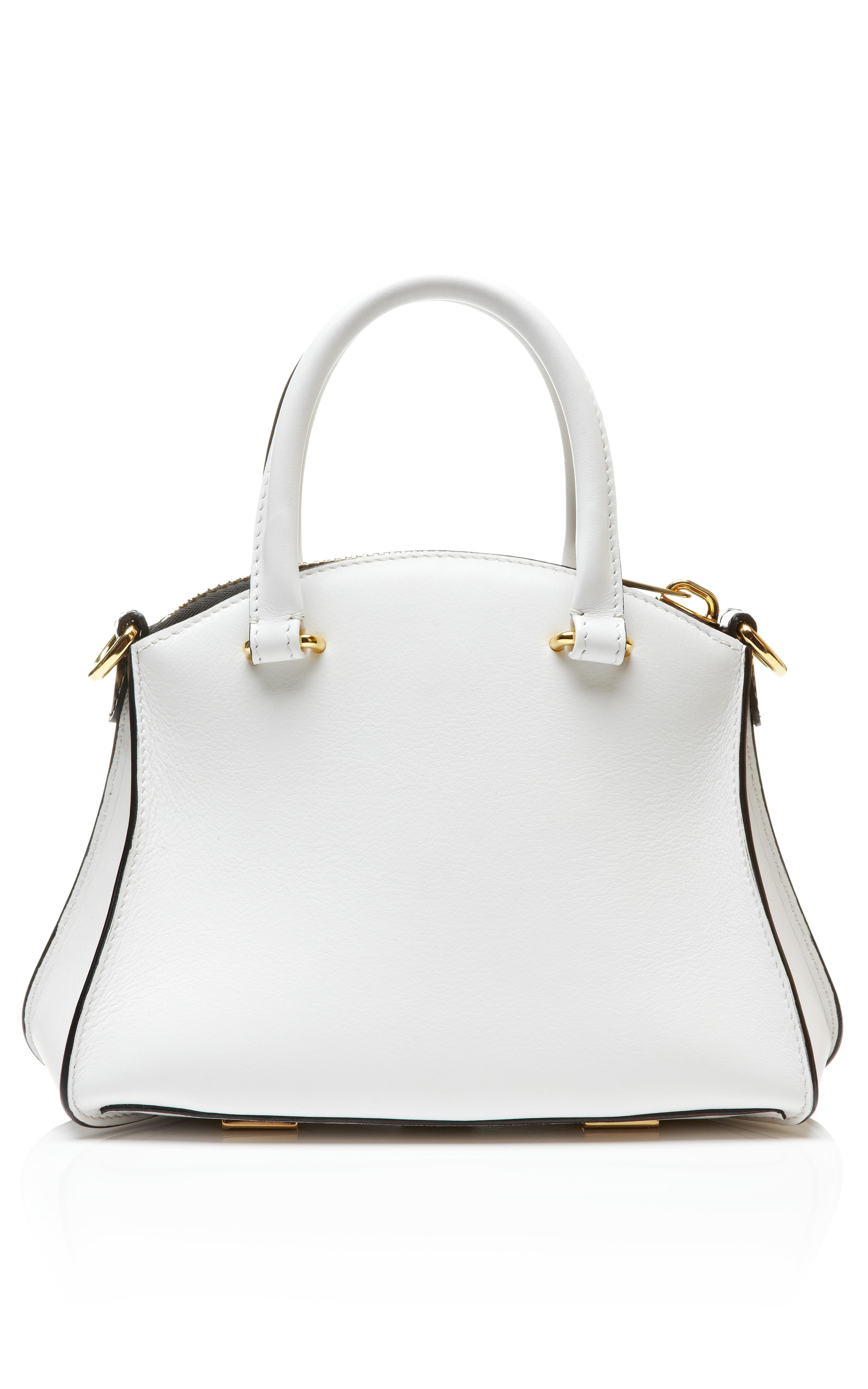 Vbh Trevi Handbag in Calla in White