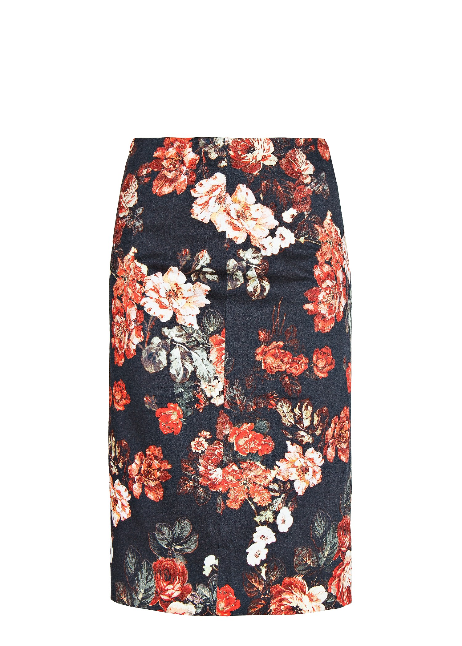 floral pencil skirt - photo #47