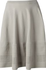 Amen Pleated A-line Skirt - Lyst