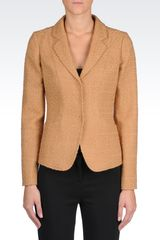 Armani Three Buttons Jacket - Lyst