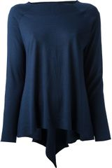 BP Flared Knit Top - Lyst