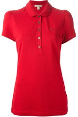 Burberry Brit Classic Polo - Lyst