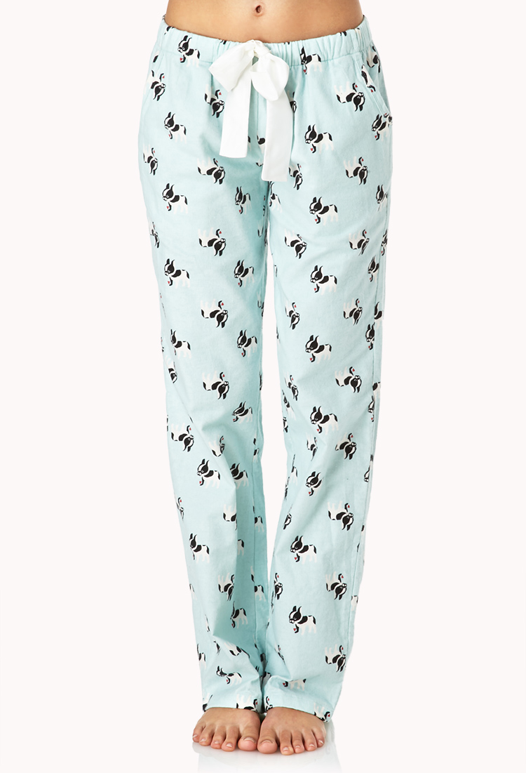 Forever 21 French Bulldog Frenzy Pj Pants You Ve Been