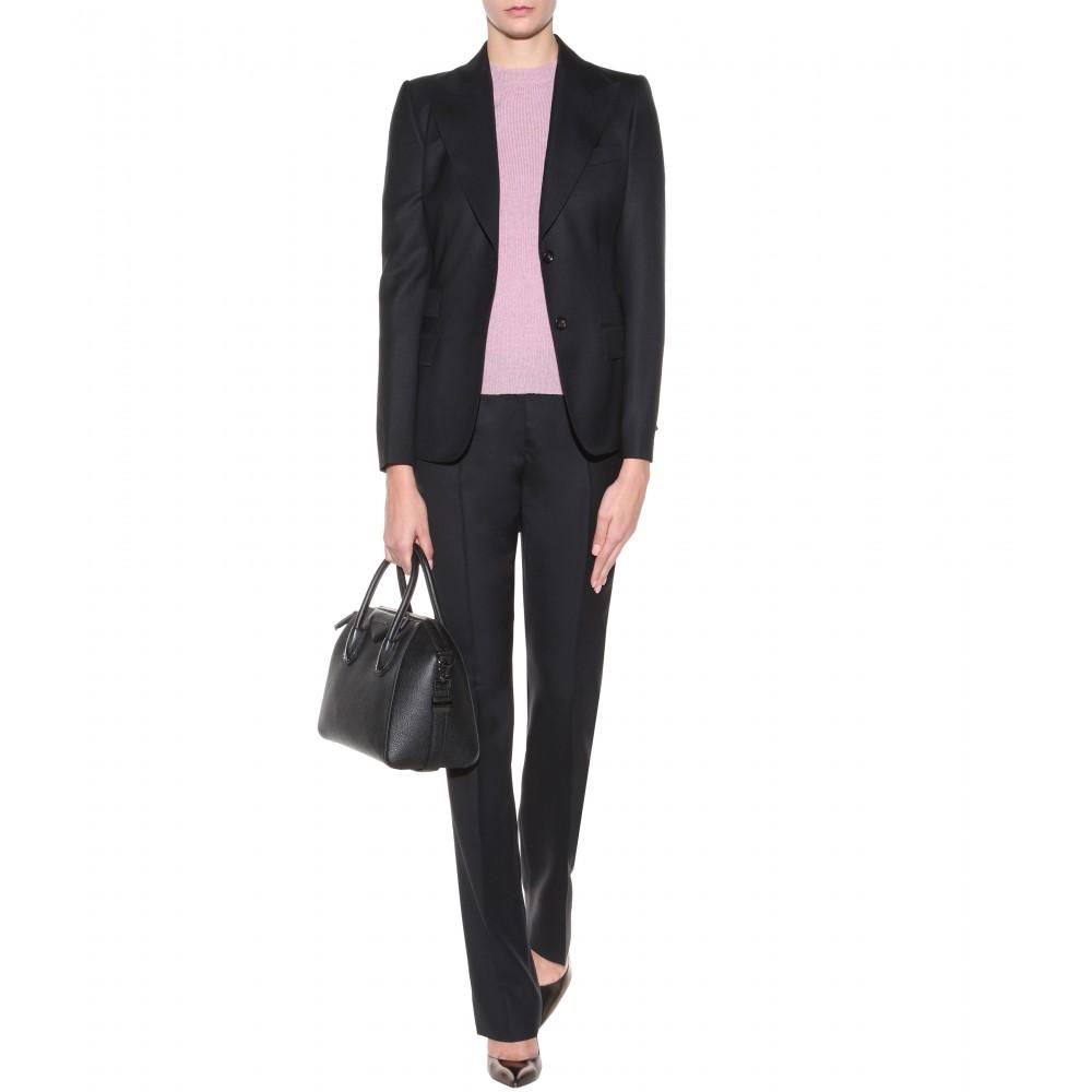 c689267c1e Lyst - Givenchy Antigona Small Leather Tote in Black