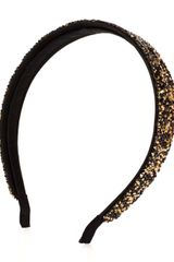 Henri Bendel Natasha All Over Embellished Headband - Lyst