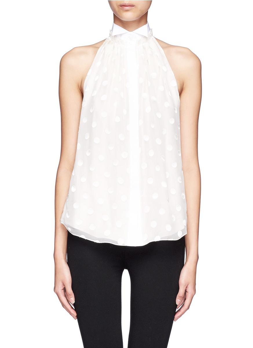 Polka Dot Shirt For Women