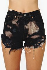 Nasty Gal The Laundry Room Bleached Cutoff Shorts - Lyst