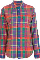 Ralph Lauren Plaid Shirt - Lyst