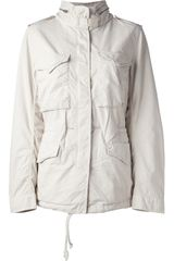 Ralph Lauren Flag Print Military Jacket - Lyst