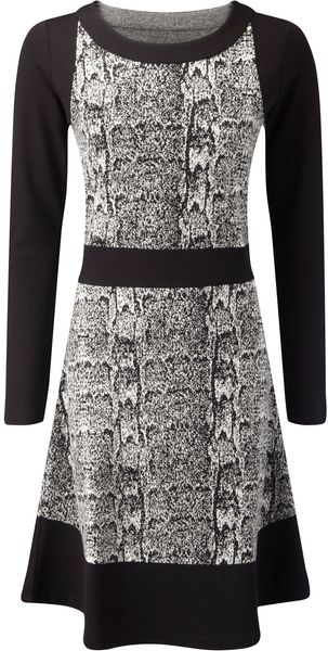 Skopes Jersey Jacquard Dress - Lyst