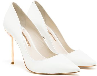 Sophia Webster Coco Pointed Leather Pumps - Lyst