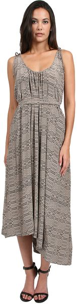 Thayer Tied Up Maxi Dress - Lyst