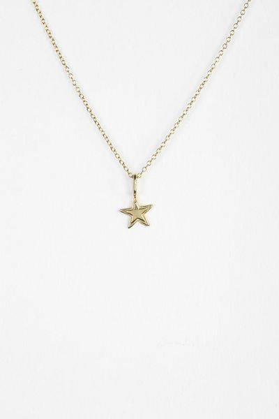 Urban Outfitters Adina Reyter Tiny Stacked Star Necklace ...