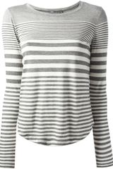 Vince Striped T shirt - Lyst