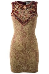 Amen Embellished Dress - Lyst