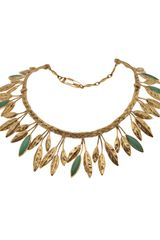 Aurelie Bidermann Malibu Necklace - Lyst