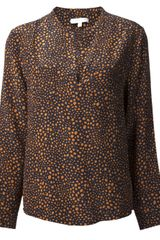 Brochu Walker Print Popover Top - Lyst