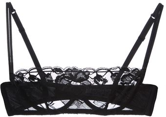 Christies Lace Bandeau Bra - Lyst