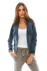 Current/Elliott The Majorette Denim Jacket - Lyst