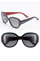 Dior Lady in 55mm Polarized Sunglasses - Lyst
