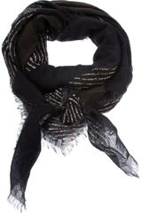 Golden Goose Deluxe Brand Patterned Scarf - Lyst