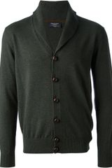 Hackett Button Fastening Cardigan - Lyst