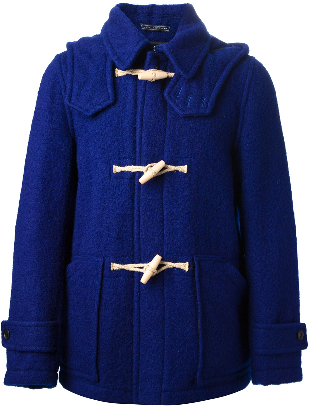 Harnold brook Duffle Jacket in Blue for Men | Lyst