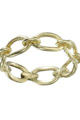 Irene Neuwirth Oval Link Chain Ring - Lyst