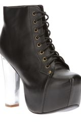 Jeffrey Campbell Lita Light Laceup Boot - Lyst