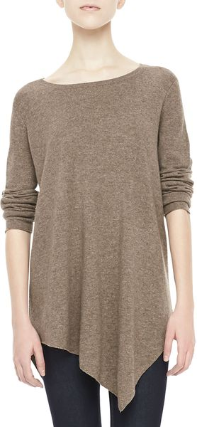 Joie Tambrel Asymmetric Knit Sweater - Lyst