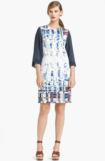 Lida Baday Scuba Shift Dress - Lyst