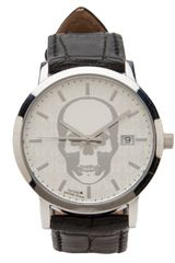 Lucien Pellat Finet Skull Stainless Steel Watch - Lyst