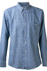 Our Legacy Chambray Shirt - Lyst