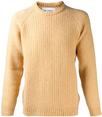 Our Legacy Heavy Knit Sweater - Lyst