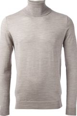 Paolo Pecora Roll Neck Sweater - Lyst