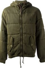 Polo Ralph Lauren Jersey Padded Jacket - Lyst