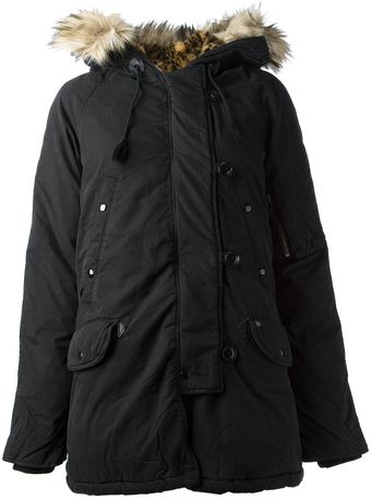 Ralph Lauren Hooded Parka - Lyst