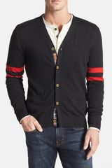 Robert Graham Arcite Wool Cardigan - Lyst