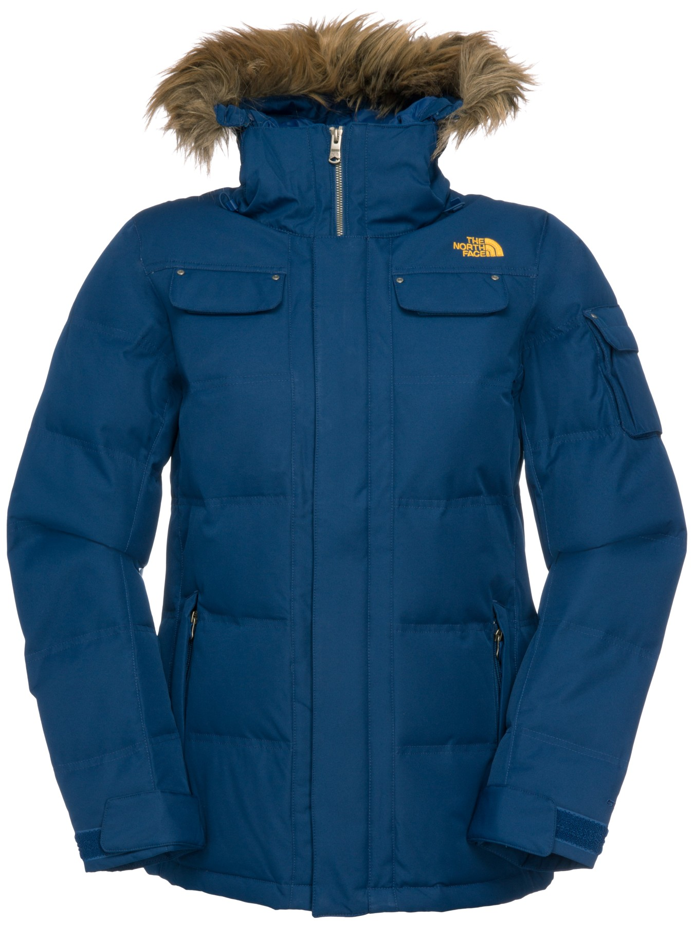 7e0b2a941 The North Face Baker Down Jacket in Blue - Lyst