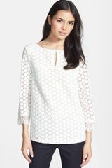 Tory Burch Elie Lace Top - Lyst