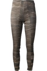 Uma Wang Textured Leggings - Lyst