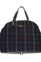 DSquared2 Checked Holdall - Lyst