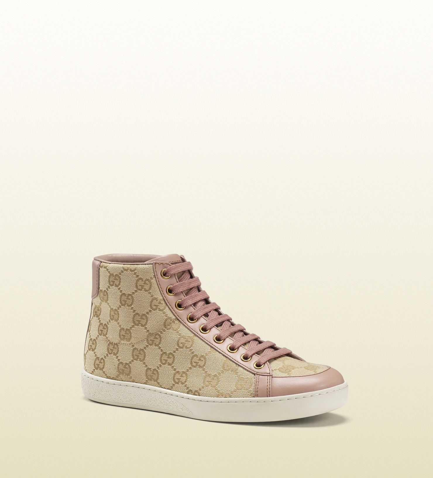 9ad97354cd2282 Gucci Brooklyn Original Gg Canvas High-top Sneaker in Natural for ...